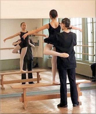 persoonlijke analyse van ballettechniek