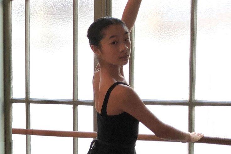 Jonge dansers bij Studio Simoncin