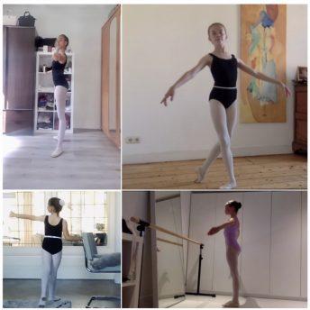 Virtuele Ballet Training